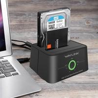 Wavlink Dual Bay SATA To USB3 0 External Hard Drive Docking Station For 2 5 3