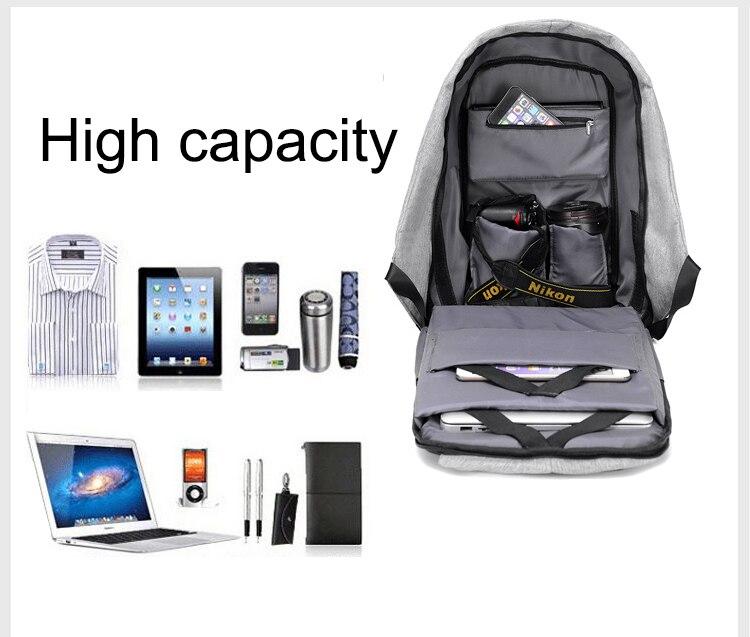 Sac à dos pour ordinateur portable USB 4