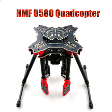 F11066 HMF U580 Totem Series RC Quadcopter Frame 4 Axle Foldable Rack Carbon Umbrella FPV Landing Gear Gimbal Mount Tube + FS