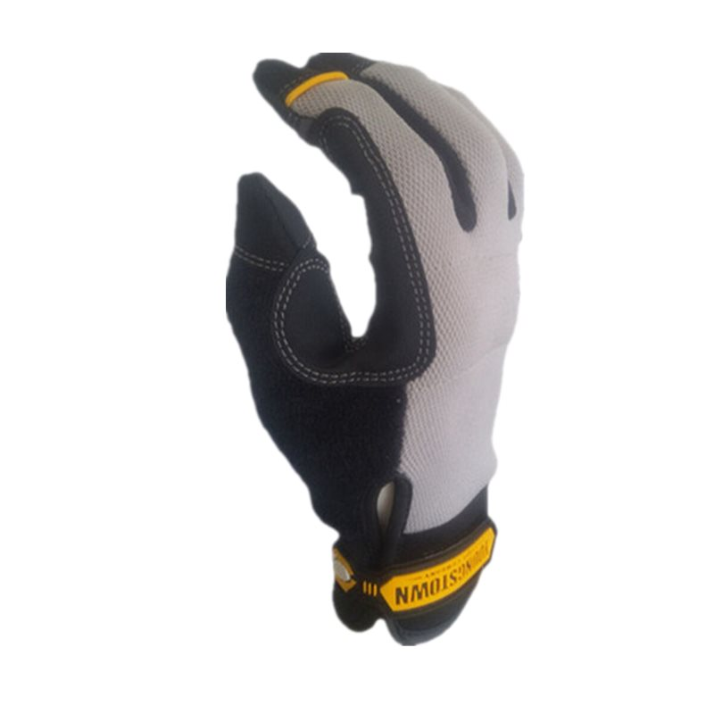 Extra resistente a la punción antideslizante y ANSI corte Nivel 3 con Kevlar guante de trabajo (grandes grey)