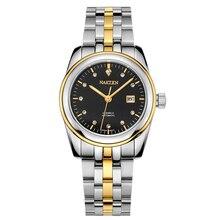 New Fashion NAKZEN Brand Import Movement Mechanical Watches 30M Deep Waterproof  Sapphire Crystal Mirror Women's Clock
