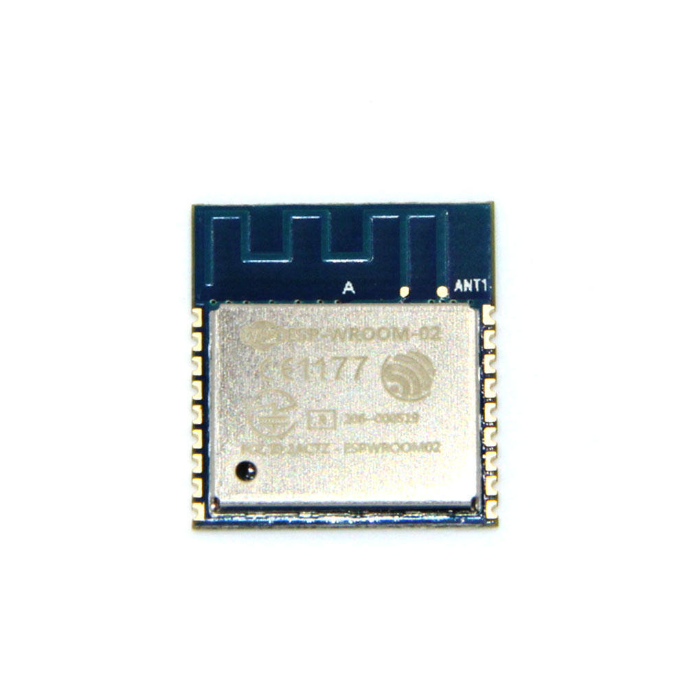 ESP8266 Serial WIFI Model ESP-WROOM-02 REMOTE Transceiver wireless Module ESP WROOM FCC CE TELEC Certified 5pcs graded version esp 01 esp8266 serial wifi wireless module wireless transceiver