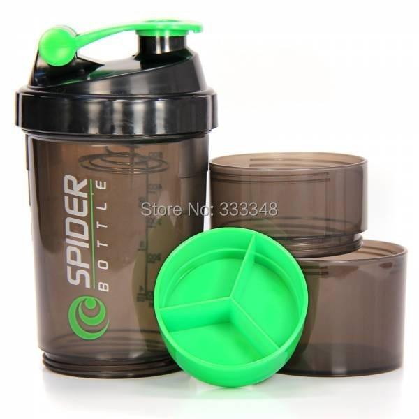 Protein Shaker Ne Kadar: Gros Personnalisé 3 Compartiments Protein Shaker