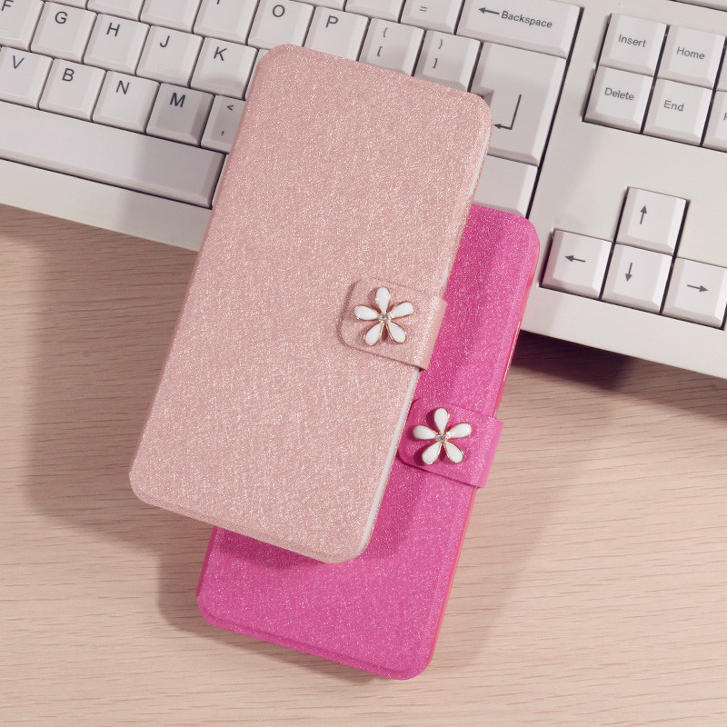 For Lenovo S820 Case Luxury PU Leather Flip Cover Fundas For lenovo S 820 Phone Case protective Shell Cover With Card Slot in Flip Cases from Cellphones Telecommunications