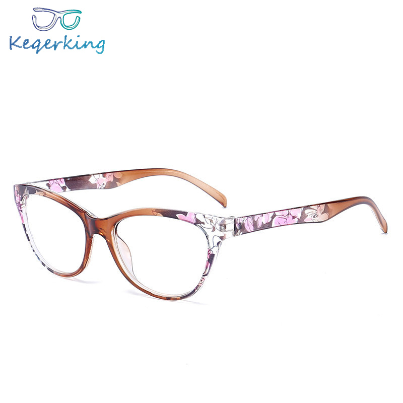 Glasses Women Presbyopia-Eyewear Lightweight Cat-Eye-Reading HA-10