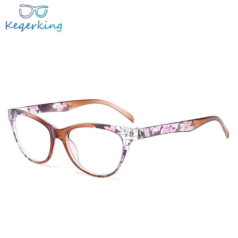 Cat Eye Reading Glasses Women Men Lightweight Presbyopic Reading Glasses 1.0 1.5 2.0 2.5 3.0 3.5 4.0 Presbyopia Eyewear HA-10