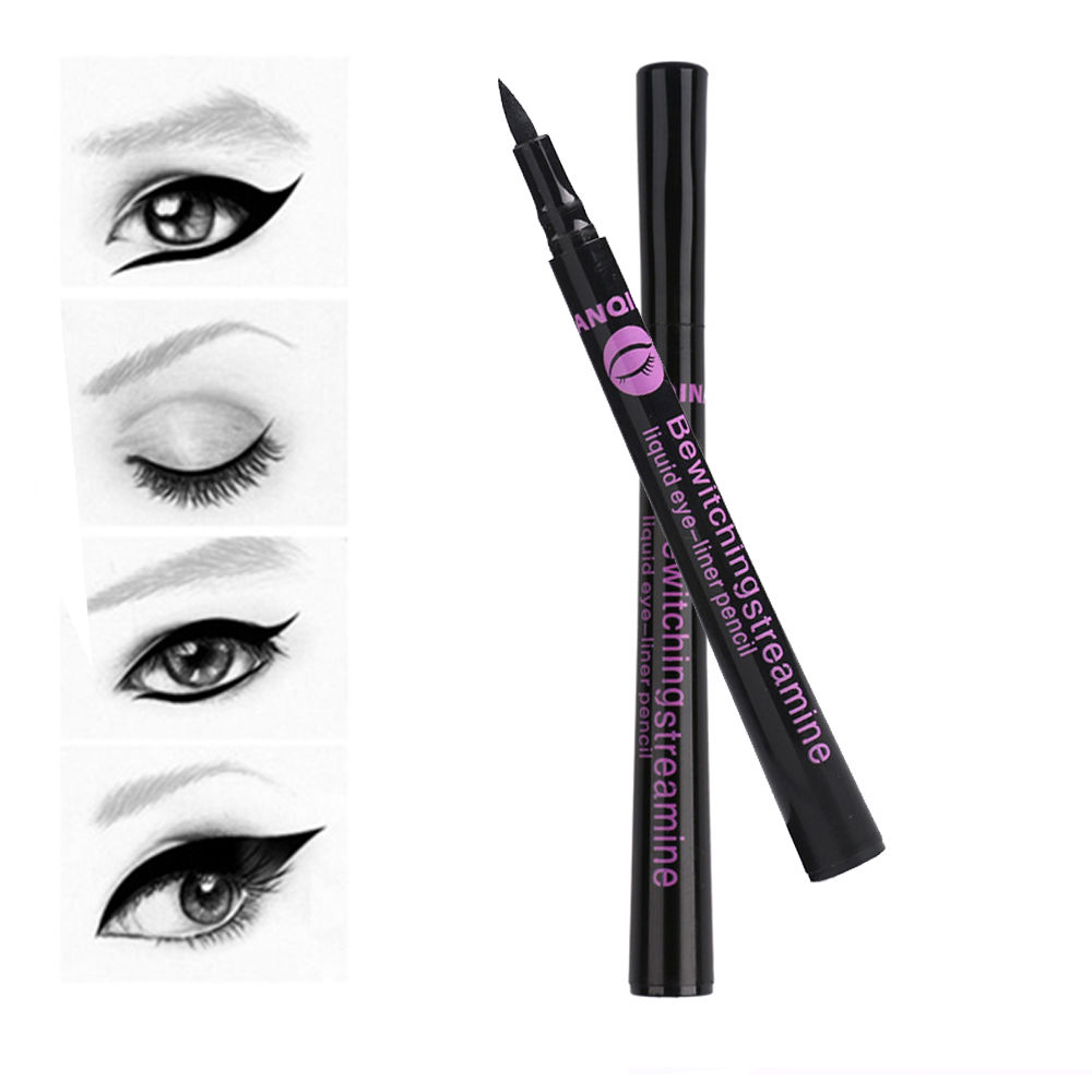 2017 1PC NEW Beauty Fashion Style Black Long lasting Waterproof Liquid Eyeliner Eye Liner Pen Pencil Makeup Cosmetic Tool-in Eye Shadow & Liner Combination from Beauty & Health on Aliexpress.com | Alibaba Group