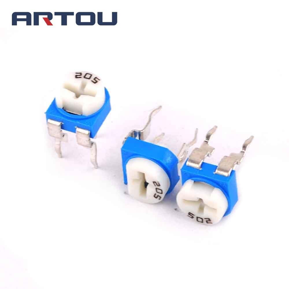 100PCS RM065 1M ohm 105 Trim Pot Trimmer Potentiometer