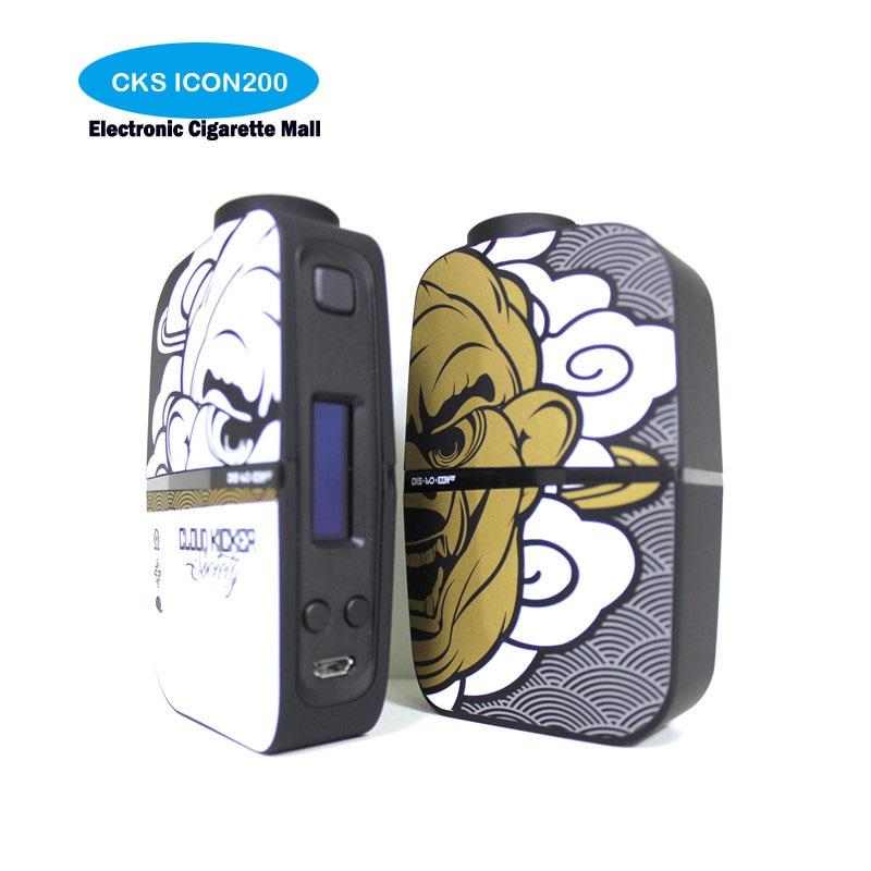 Authentic CKS ICON200 Cloud Kicker cks icon 200w Box Mod Electronic Cigarettes Vape