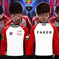 Animation Game LOL S6 Faker SKT1 Team Uniform WAR Finals lol player suit top sweatshirt Pullover in stock free shipping NEW
