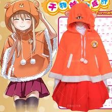 Anime Umaru Cosplay Doma Umaru Cos mujer otoño e invierno ropa de diario fiesta de Halloween