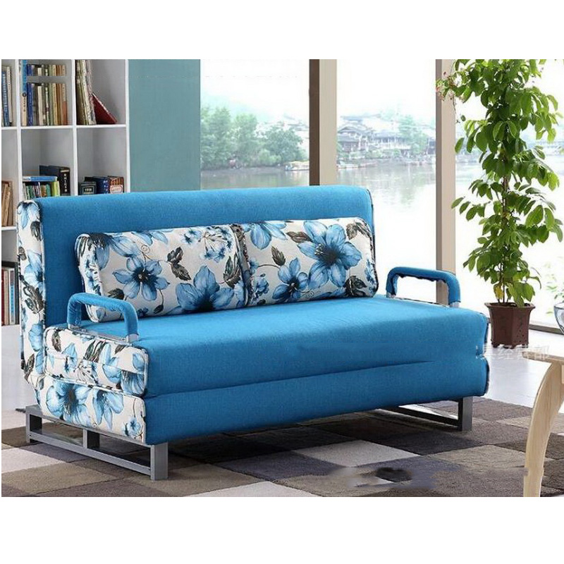 260317/1.5m/High quality metal steel frame/Foldable sofa bed/A variety of styles/High elasticity /Home multi-functional sofa/ kcchstar the eye of god high quality 316 titanium steel necklaces golden blue