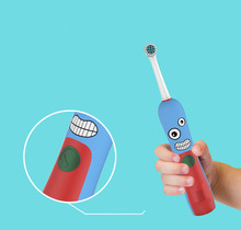 Kids Children Rotation Ultrasonic Electric Toothbrush Rechargeable with music timer Teeth Care Toothbrush Cleanser