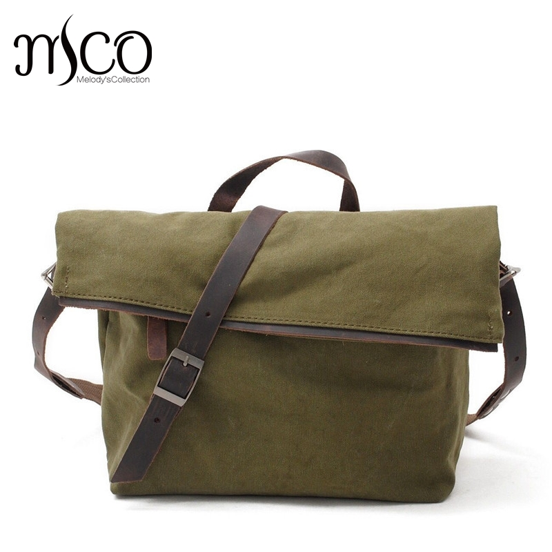 Vintage Crossbody Bag Military Canvas Shoulder Bag New Arrivals Casual Tote Men Travel Bags Dark Gray School Bags for youth Boy vintage crossbody bag dark khaki canvas shoulder bags men messenger bag man casual handbag tote business briefcase for computer