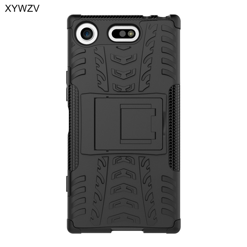 Image 4 - For Sony Xperia XZ1 Compact Case Shockproof Cover Hard Phone Case For Sony Xperia XZ1 Compact Back Cover For SONY X Z1 Compact-in Fitted Cases from Cellphones & Telecommunications