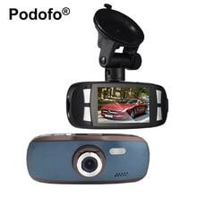 Podofo Новатэк 96650 Видеорегистраторы для автомобилей Камера 2.7 «ЖК-дисплей видео Регистраторы gs108 с WDR Blackbox 1080 P G-Сенсор тире cam G1W Регистратор