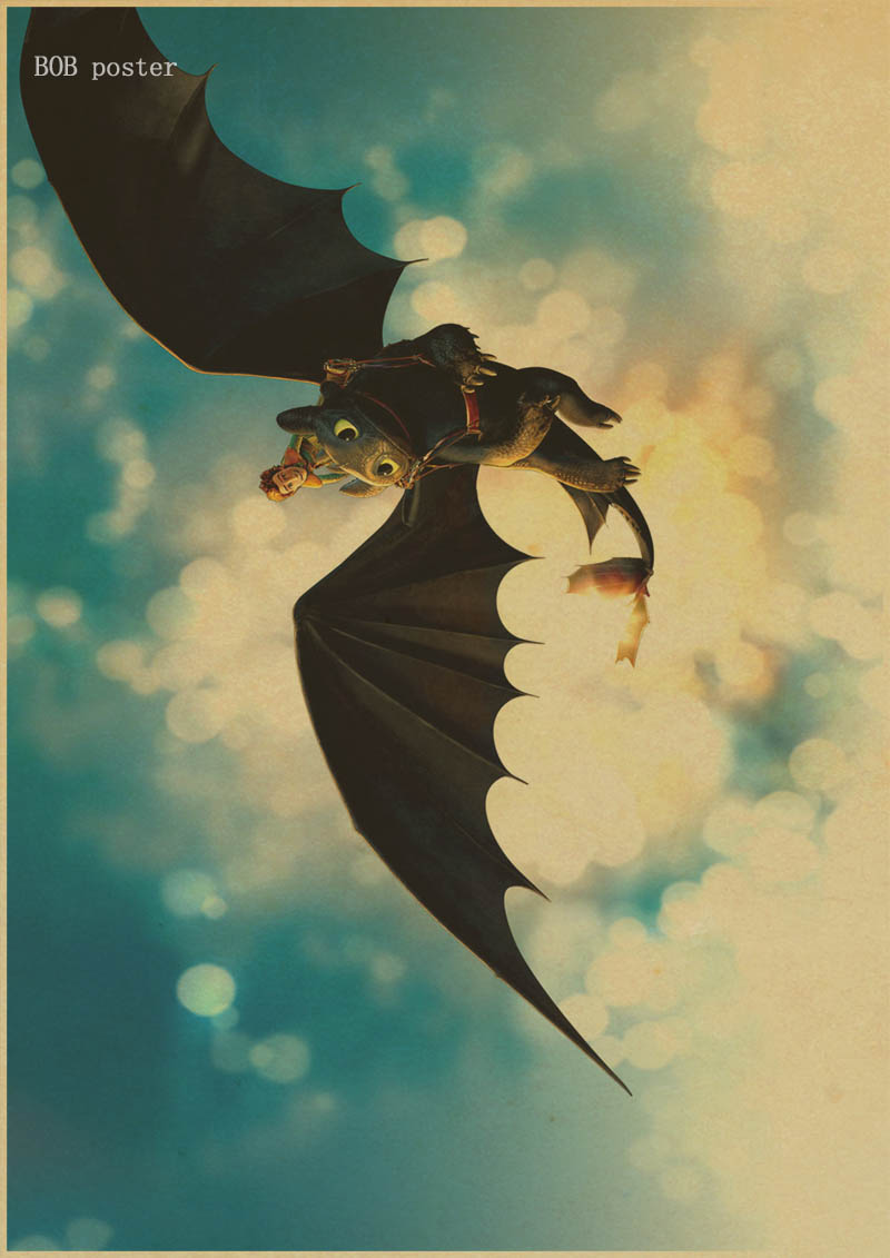 Perfect How To Train Your Dragon Wall Art Model - Wall Art ...