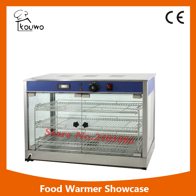 Commercial Kitchen Machine Food Warming Display Glass Display Showcase Glass Display Cabinet Food Warmer With Low Price free ship new premium fast food equipment commercial package double grilled hamburger machine price
