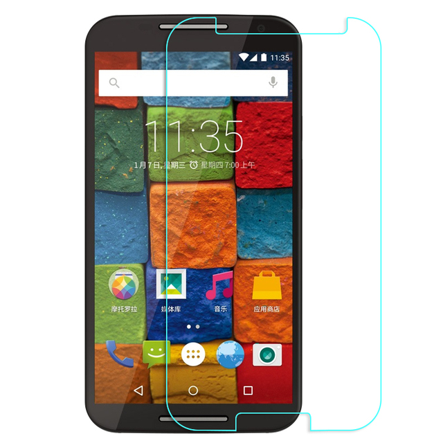 For Motorola MOTO E E2 G G2 G3 G4 Plus X X2 Tempered Glass Screen Protector For Google Nexus 6 Toughened protective Film