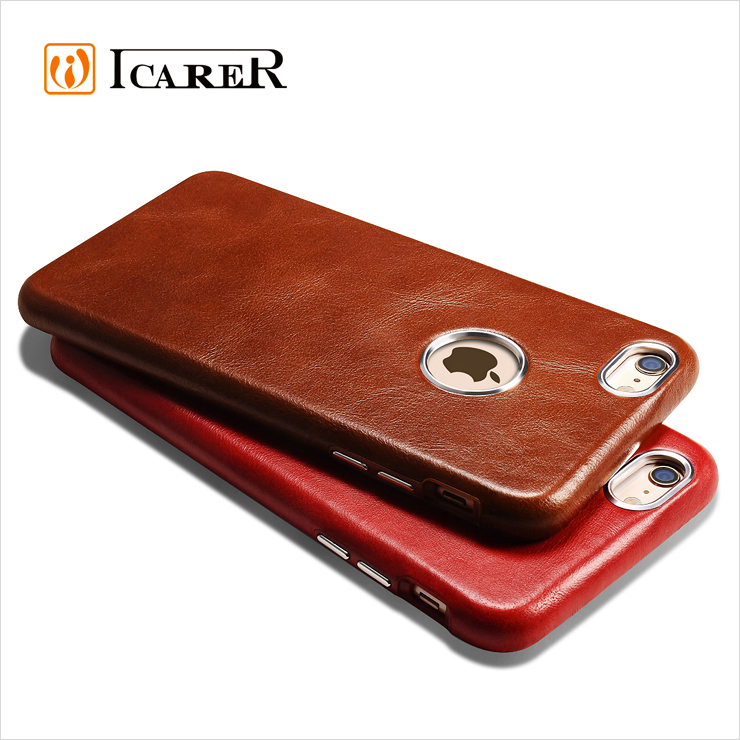 ICARER Genuine Leather Case for Apple iPhone 6 / 6S 4.7 Inch Mobile ...