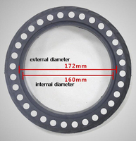 10 Inch Cellular Hole Tire For Self Balance Scooters Two Wheels Hoverboards And Electric Scooters