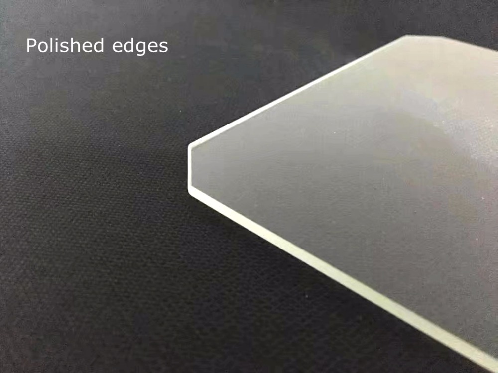 220 x 220 x 4mm Chamfer 220mm x 220mm x 4mm Chamfer Borosilicate Glass Build Plate for 3D Printer Glass Bed