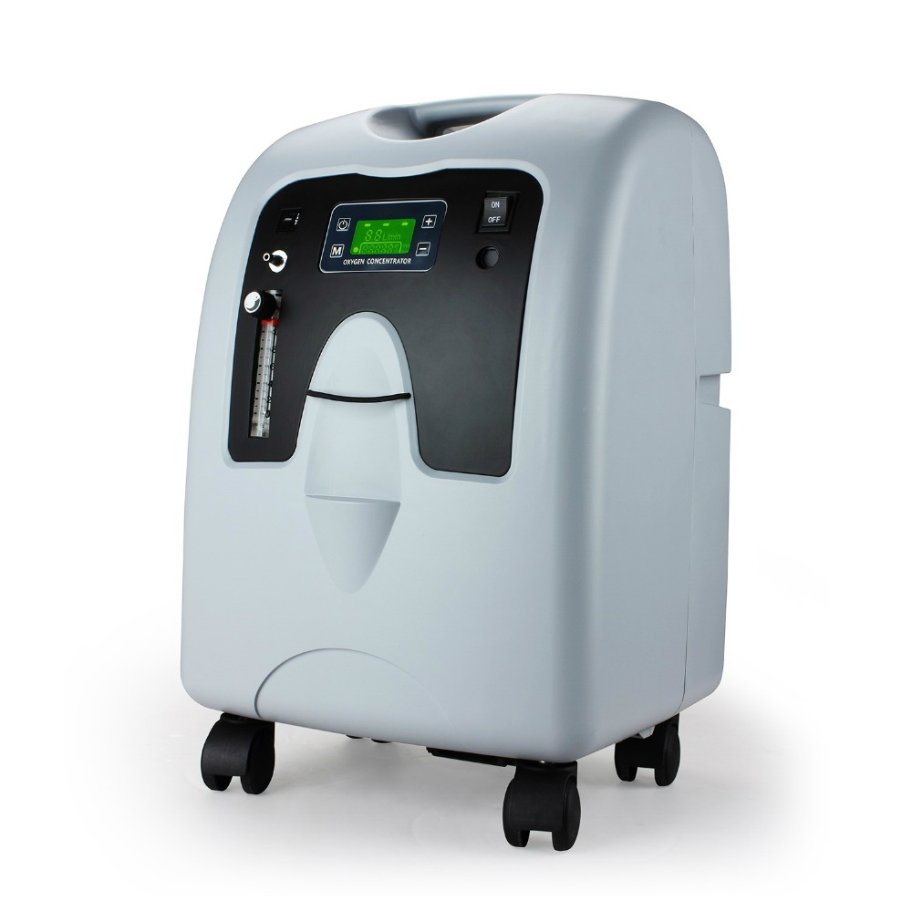 10L medical oxygen concentrator enough oxygen for increasing needs COPD  asthma Pulmonary Fibrosis  free shipping by DHL-in Oxygen Machine from Beauty & Health