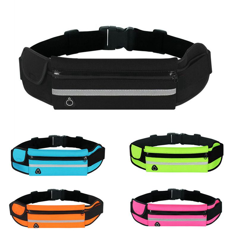 Waterproof Running Waist Bag Outdoor Sports Running Belt Bags Women For Iphone Phone Jogging Bags For Women Men Lady
