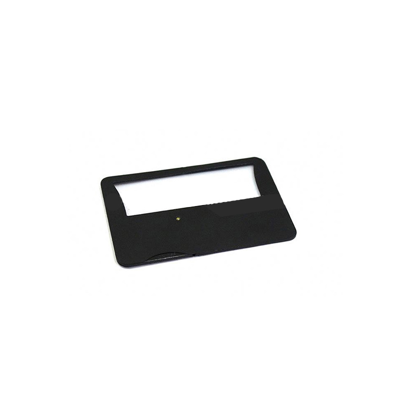 Suncore PVC Card Magnifier Magnifying Ruler Bookmark, Magnifier Bookmark full page bookmark magnifier