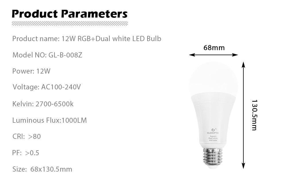 ZIGBEE led bulb