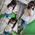 2017 SUMMER children brand SHORT SLEEVED T SHIRTS COTTON SUMMER CLOTHING BABY BOY CLOTHES BABY GIRL CLOTHES KIDS TOPS VESTIDOS