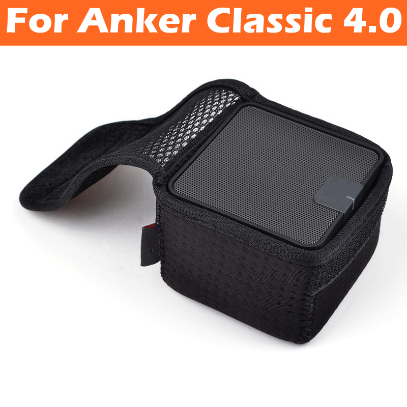Neoprene Speaker Protective Case Cover for ANKER Classic 4.0 Wireless Bluetooth Speakers Soundbox Storage Portable Bag Box Pouch