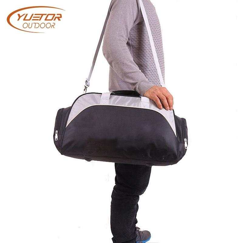 유가 OUTDOOR 큰 용량 남여 방수 나일론 여행 더플 스포츠 핸드백 단일 어깨 헬스 클럽 체육관 가방 스포츠 가방