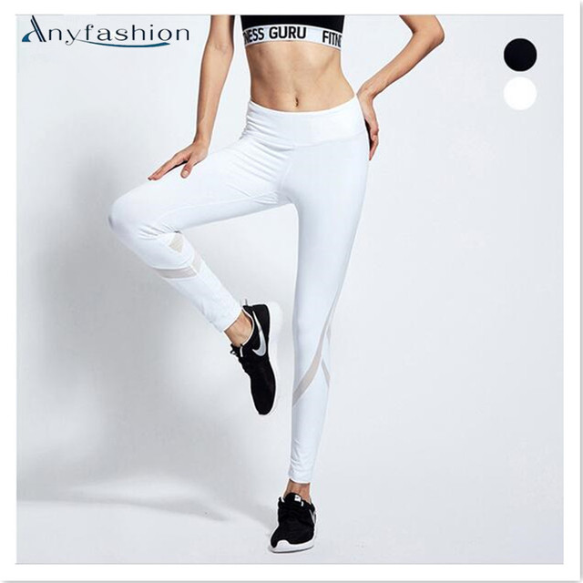 2017 Sexy Womens Sporting Leggings Runs Pants Fitness Workout Leggings Clothes for Women Bodybuilding Capris Sportswear Trousers