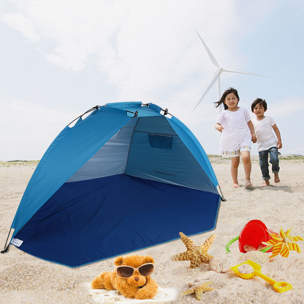 TOMSHOO Outdoor Sports Sunshade Tent for Fishing Picnic Beach Park Camping Tent Travel Tents Outdoor Camping-in Tents from Sports & Entertainment