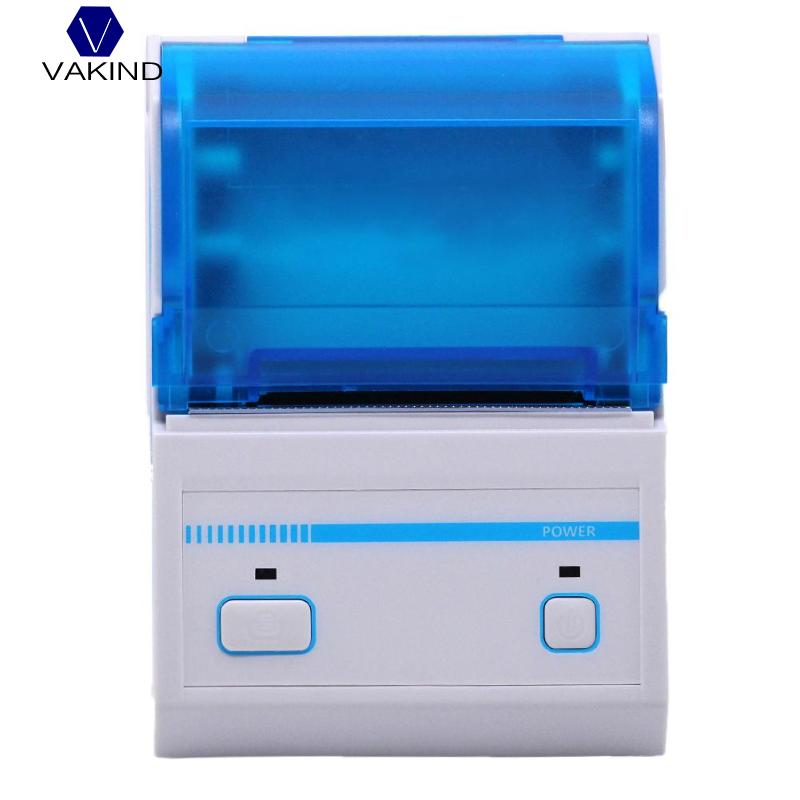 NEW US Plug Mini Bluetooth POS Receipt Thermal Printer Pressure Sensitive Adhesive Printer for Android for IOS