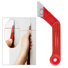 1pc Tungsten Tile Gap Repair Tiling Jointing Tool Cleaning Grout Removal Cleaner  Simple Style hand tool DIY  Multi Functional