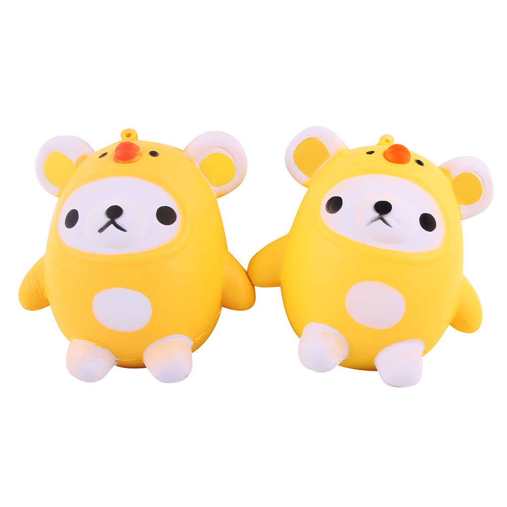 Squishy Toys Jumbo 9CM Panda Elastic PU Stress Relief AntiStress Squishy Squeeze Toys Bun Scented Poke it Squish it Rub it Gift