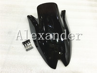 HotSale For Kawasaki Z1000 2010 2011 2012 2013 Black Windshield WindScreen Double Bubble Z 1000 10