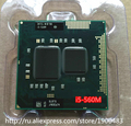Оригинал lntel Dual Core i5 560 М 2.66 ГГц 560 Ноутбук процессоров CPU Компьтер PGA 988 i5-560M (работает 100% бесплатная Доставка)