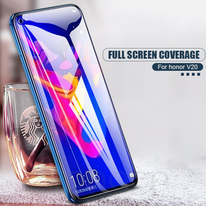 Image 5 - 9D Tempered Glass on the For Huawei Honor 8X 8C 8A 9i 10i 20i V20 V10 V9 Play Note 10 Magic 2 Screen Protector Protective Film