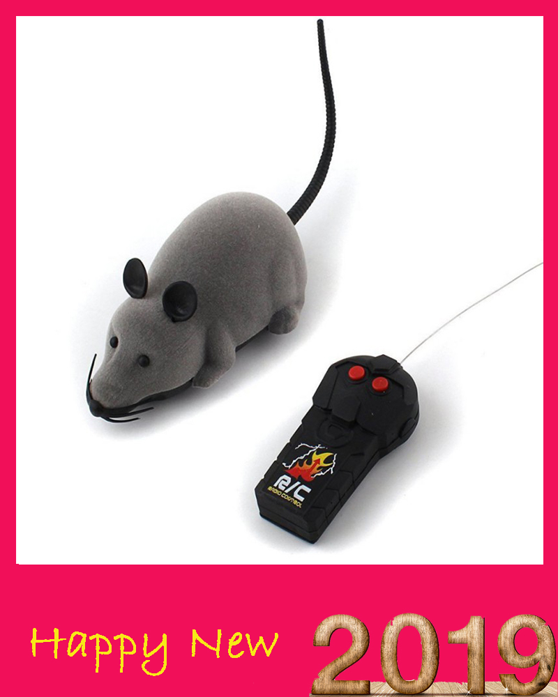 Fun Lovely Rc Mice Toy Pets Cat Toy Mouse For Kids Toys Cat Toy Wireless Remote Control Mouse Electronic