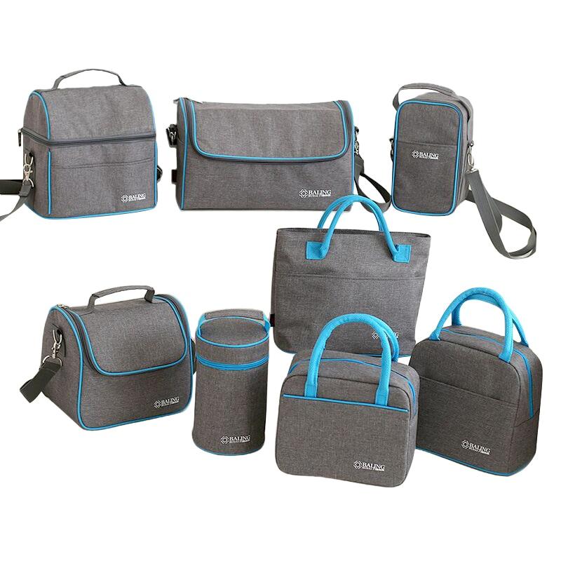 Più Freddo Isolamento termico Lunch Bag Picnic Bento Box Conservazione Fresca Cibo Pacchetto di Ghiaccio di Frutta Contenitore di Stoccaggio Accessori Alimentazione Roba