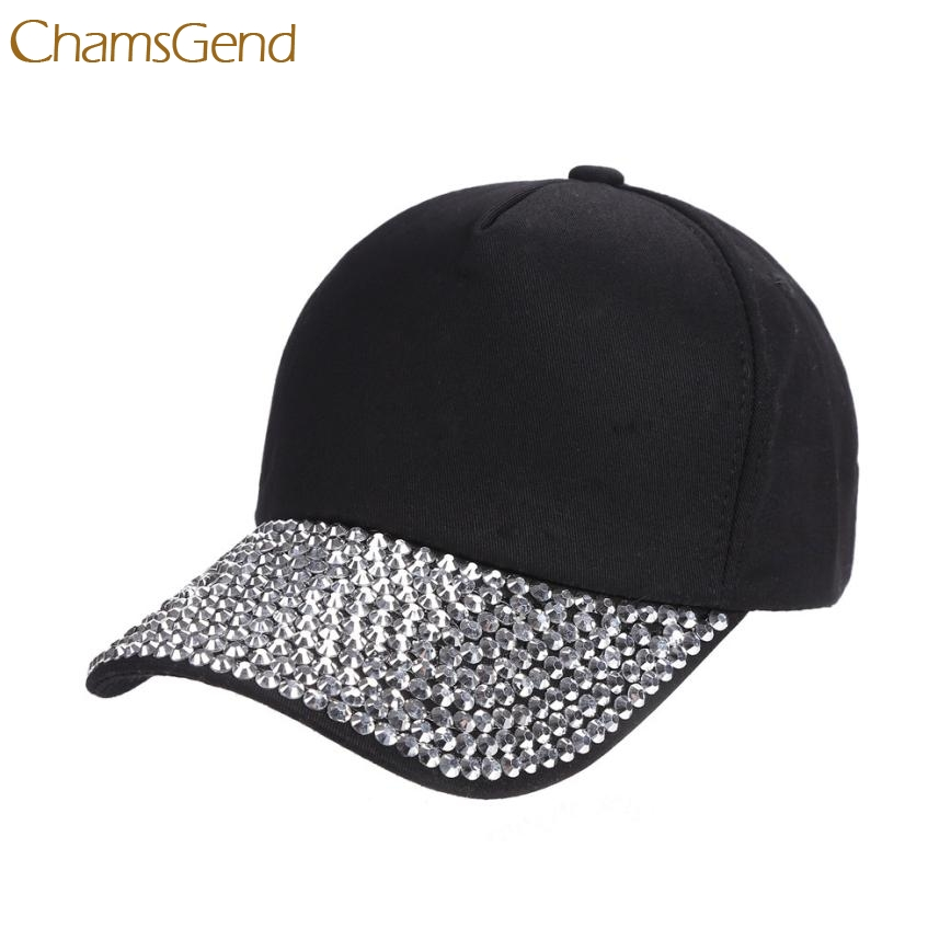 2017 New Elegant Womens New Fashion Baseball Cap Rhinestone Paw Shaped Snapback Hat  Aug 1 cowboy hat cap cap flat top hat lace rhinestone flower hooded fashion tide cap cap riding hood