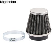Mgoodoo 48mm Double Layer Steel Air Filter Gauze Clamp-on Cleaner Pods ATV Scooter Minibike Dirt Bike For Honda High Quality