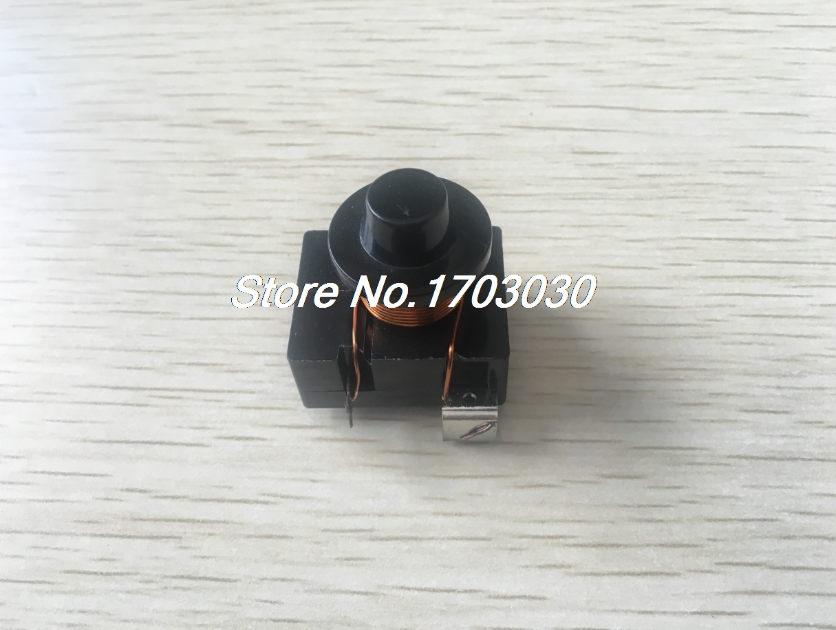 Black Housing 1/4 Freezer Electromagnetic Starter Compressor PTC Relay