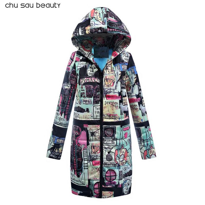 2018 Winter Jacket New Fashion Women Down jacket Slim Large size Hooded Jacket Students Women Thick