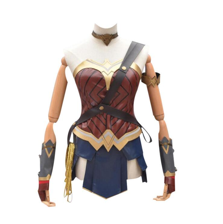 Wonder Woman Cosplay Costume Halloween Fancy Costumes Adult Superhero Diana Prince Outfit Costume Wonder Woman outfit