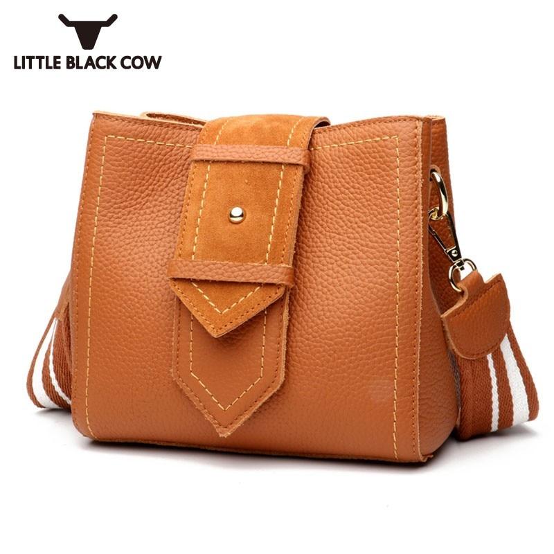 все цены на Womens Vintage Leather Bucket Bag Brand New Belted Crossbody Sling Shoulder Office Ladies Casual Bolsa Feminina Messenger Bags