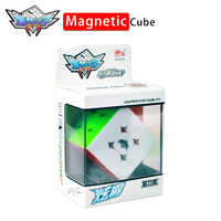 ShaoLin Popey XuanJue 3x3x3 Magnetic Magic Speed Cube Stickerless Professional Magnet Puzzle Cubo Magico Educational Toys Gift